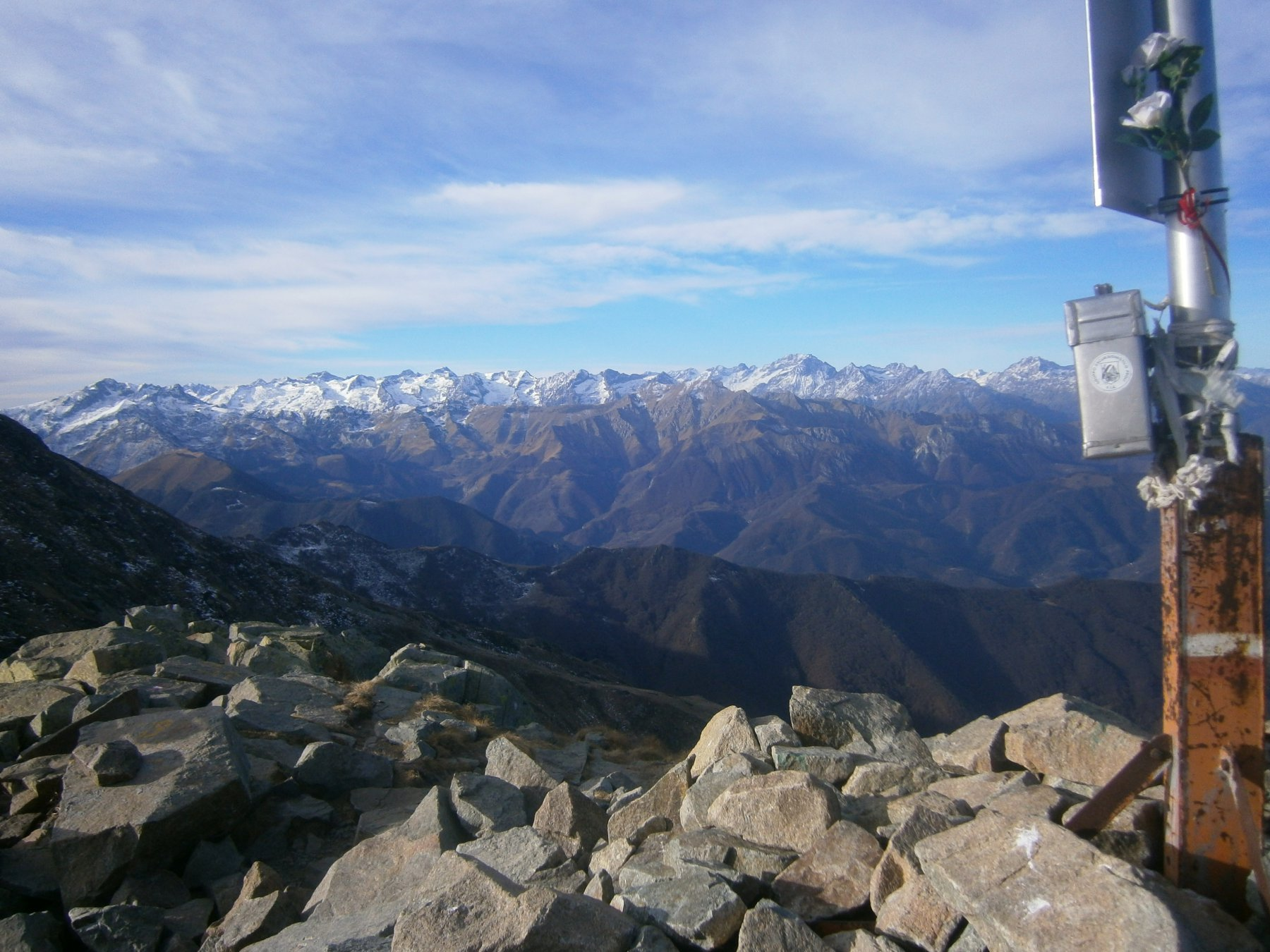 Panorama dalla Besimauda