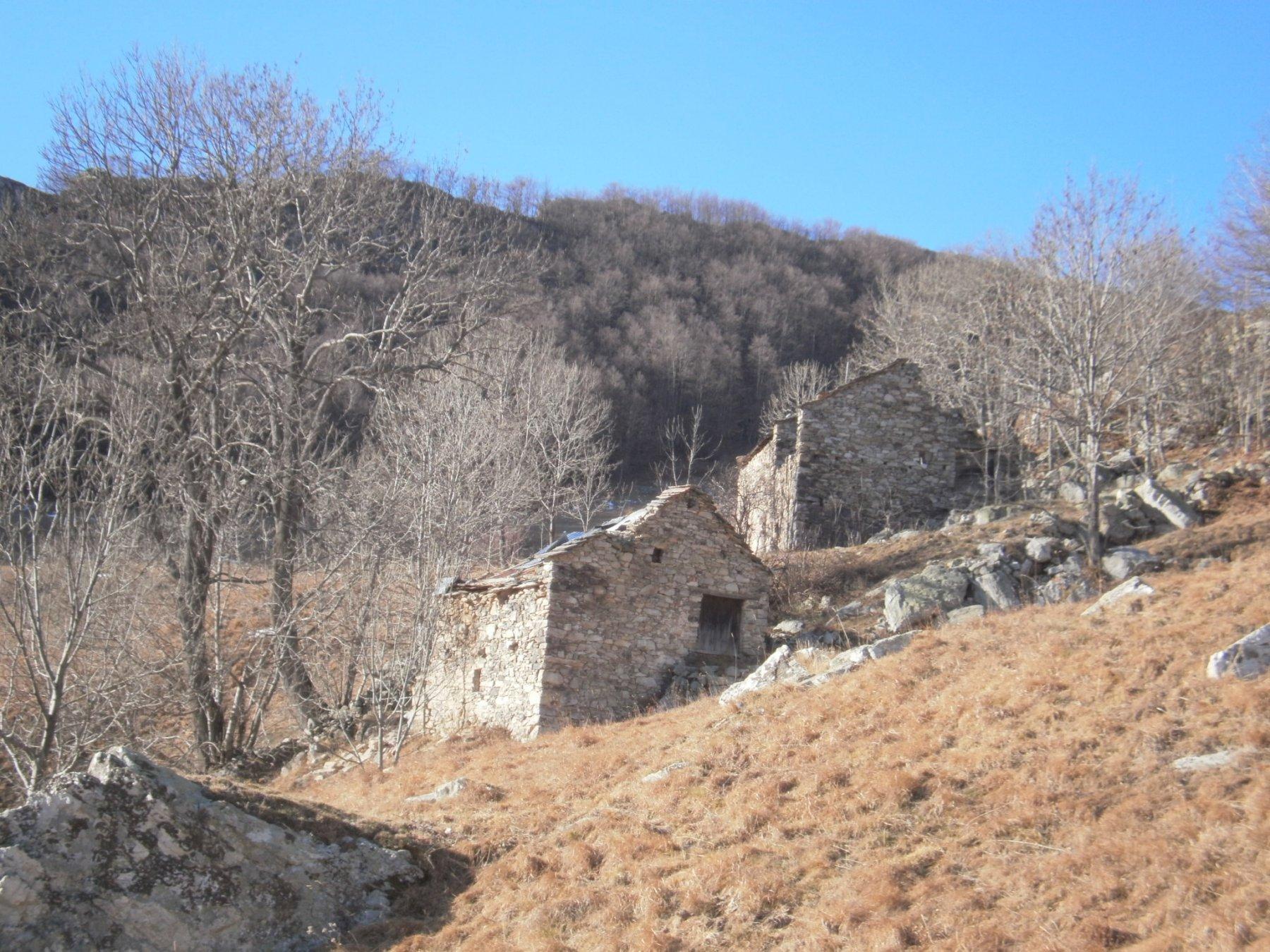 Casera Vecchia salendo al Merdenzone