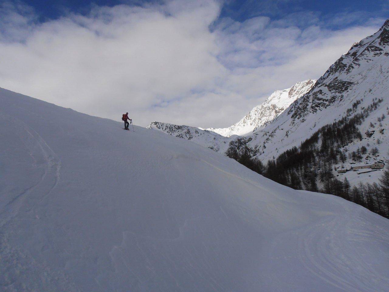 03 - ai piedi del Mont Velan in fondo al Vallone di Menouve