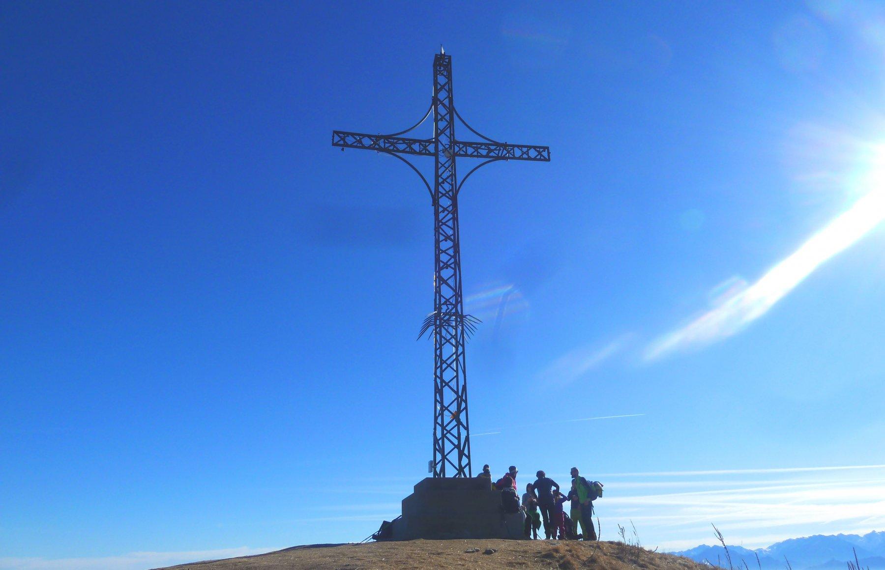 la croce di vetta