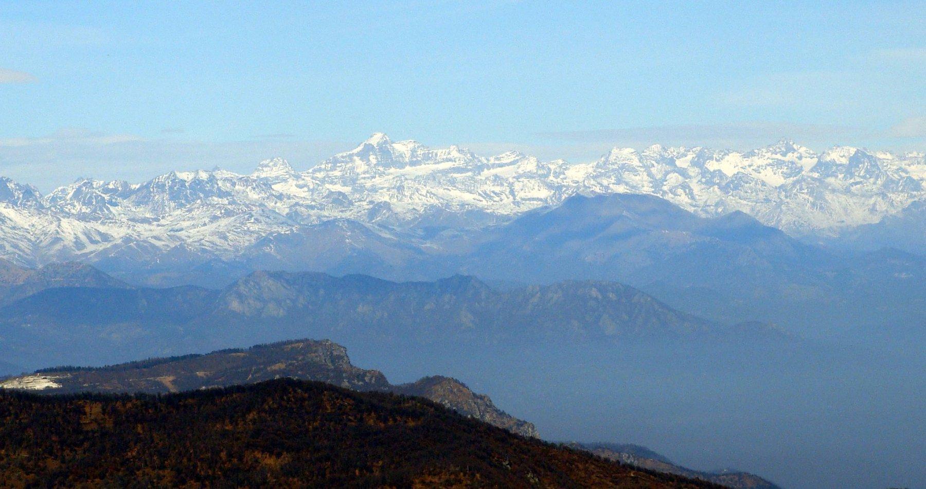 panoramica ssul granparadiso