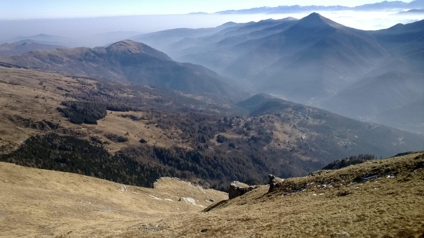 panorama dalla cappella Madonna Alpina