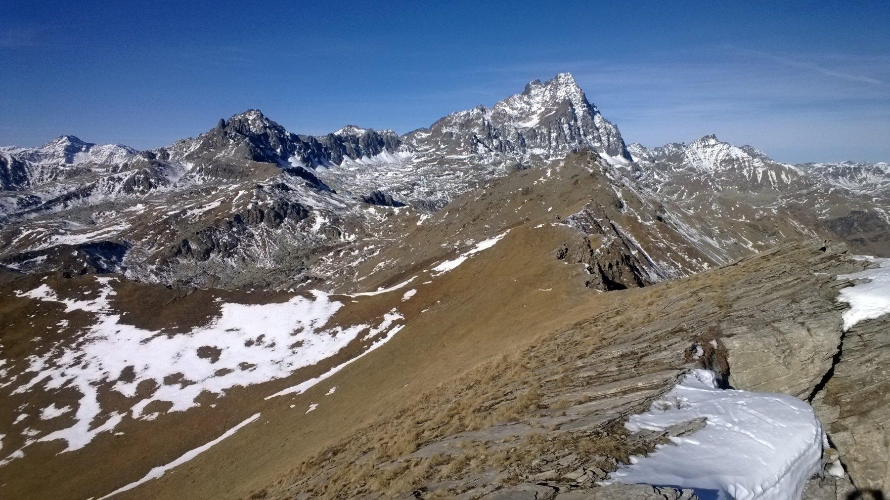 spettacolo dalla cima Roccenie