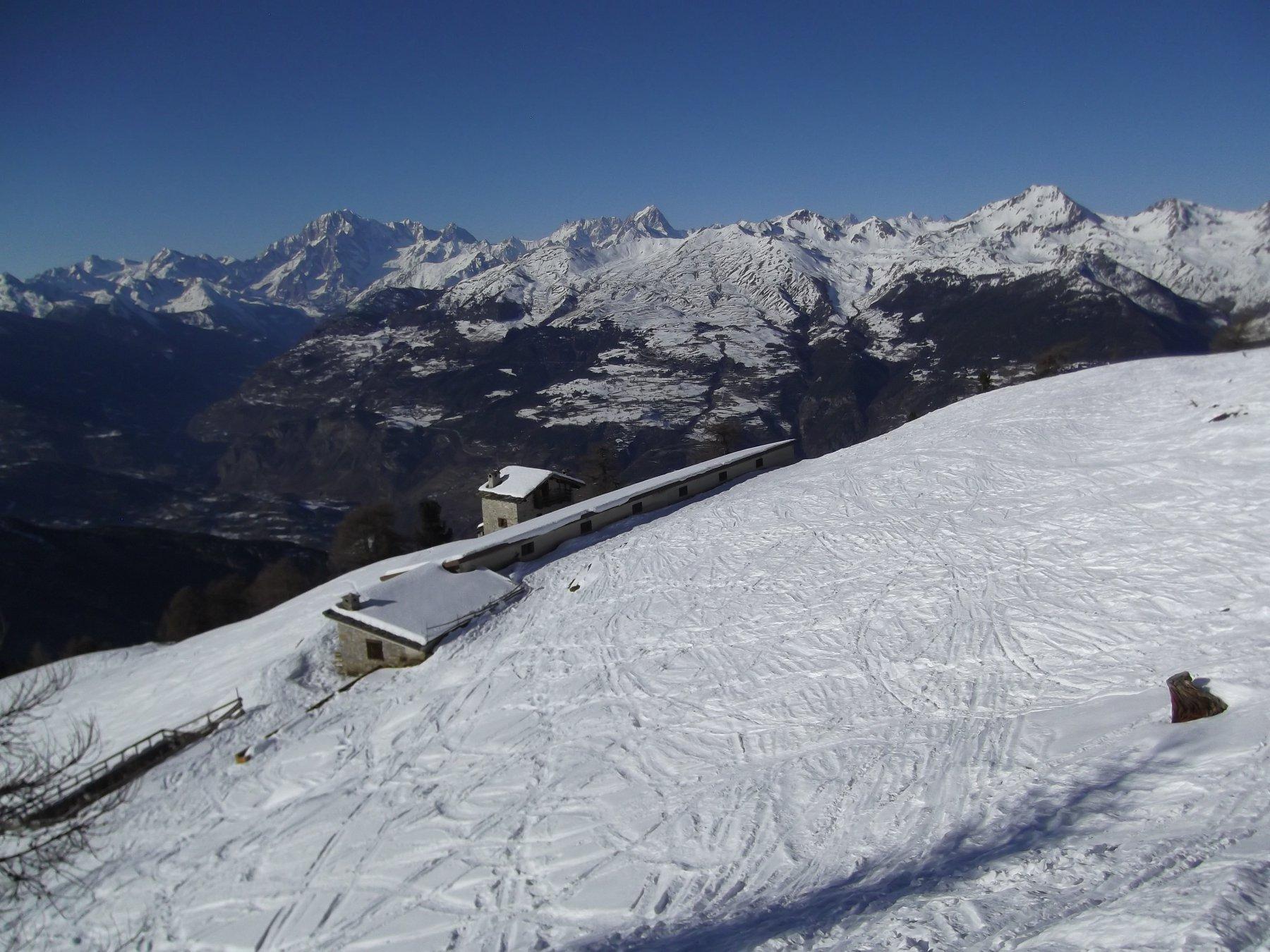 l'alpeggio superiore.
