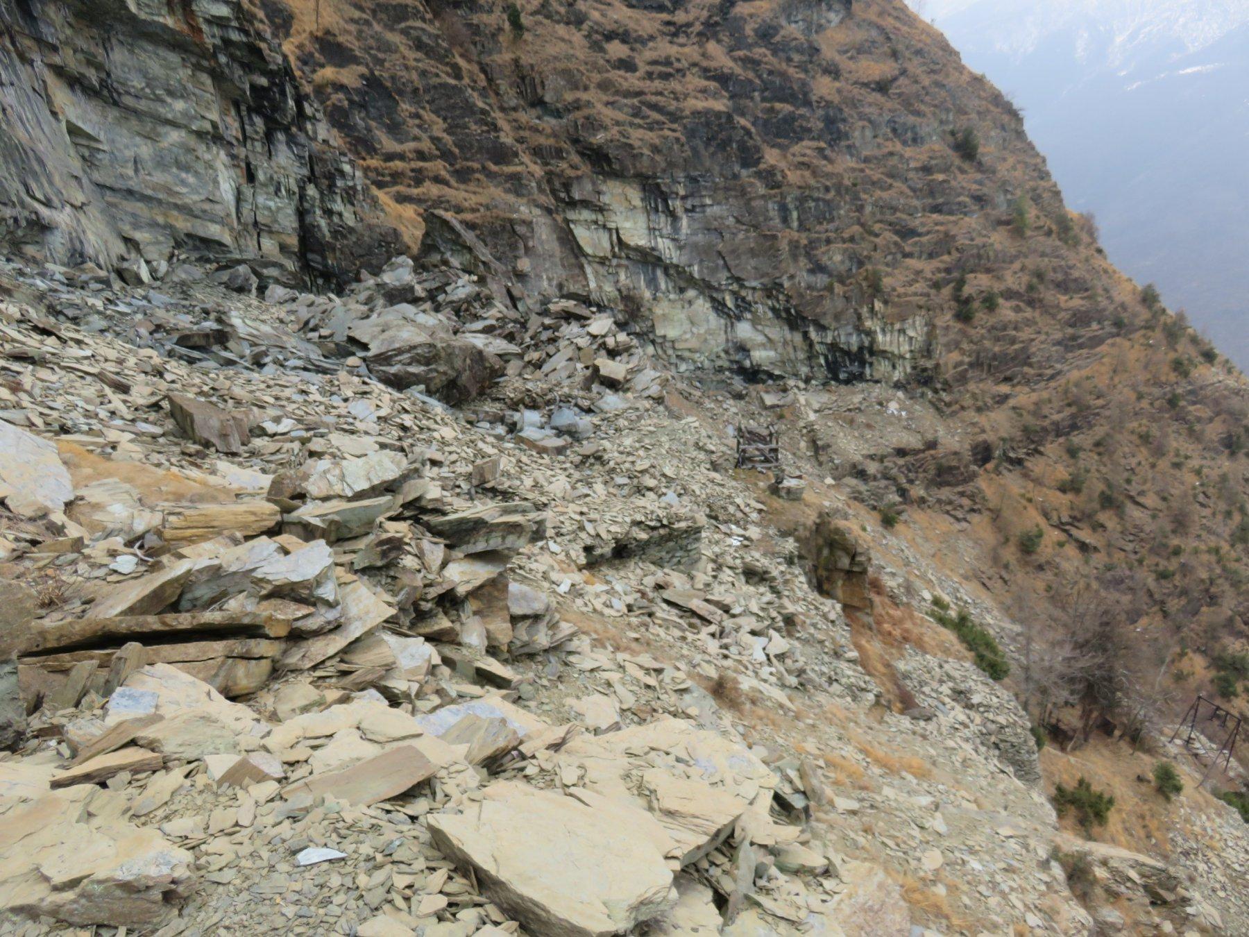 La cave delle lose del Der Bianc