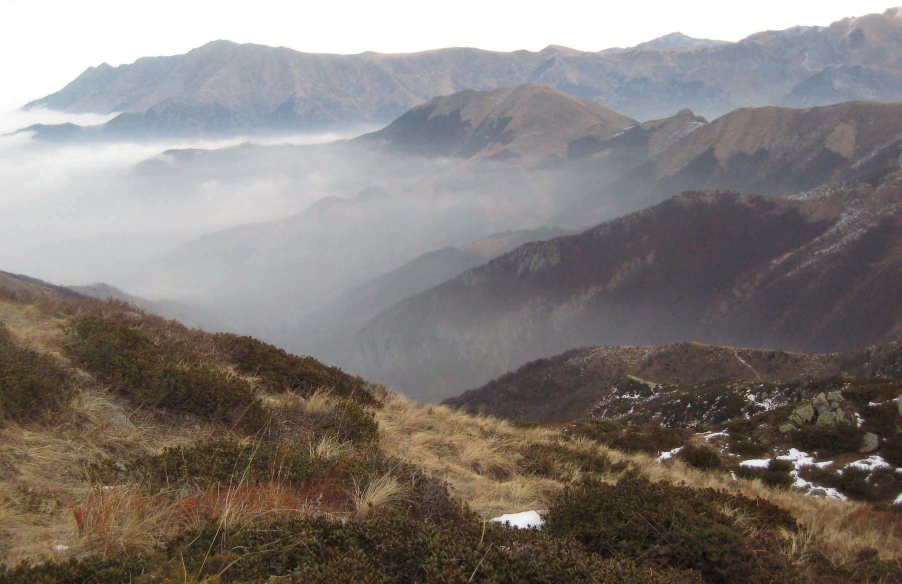 Vista sulle Alpi Liguri