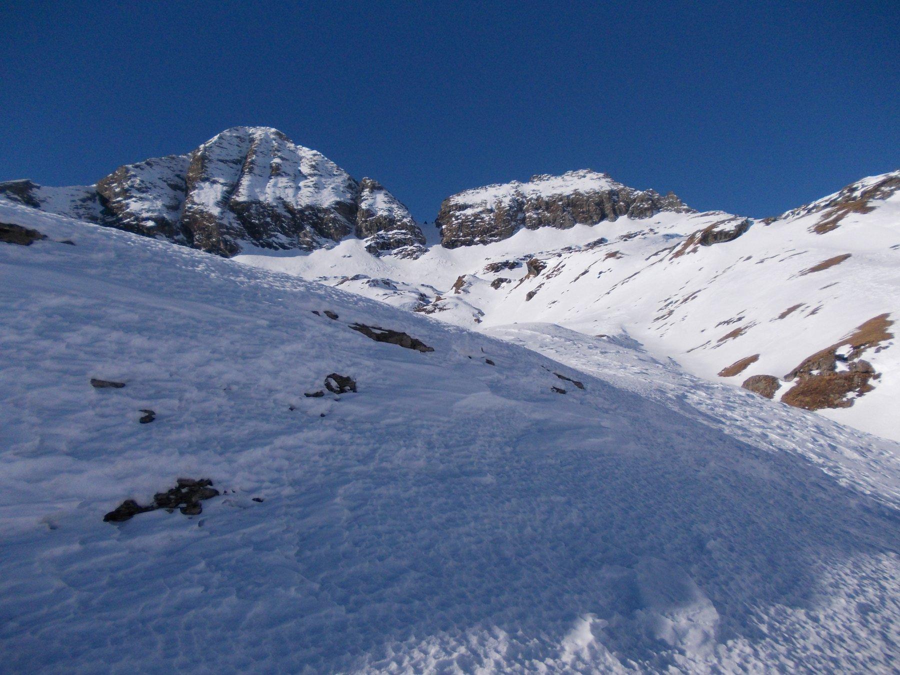 Civera (Passo della) e Passo dei Salatida Alagna Valsesia, anello 2016-01-30