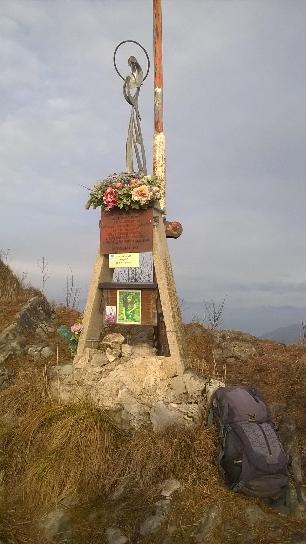 statua sulla Punta di Mezzo