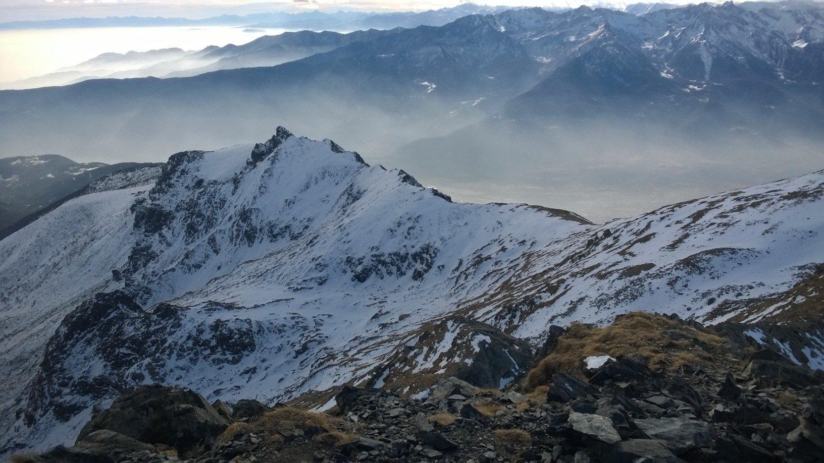 La situazione neve dalla cima