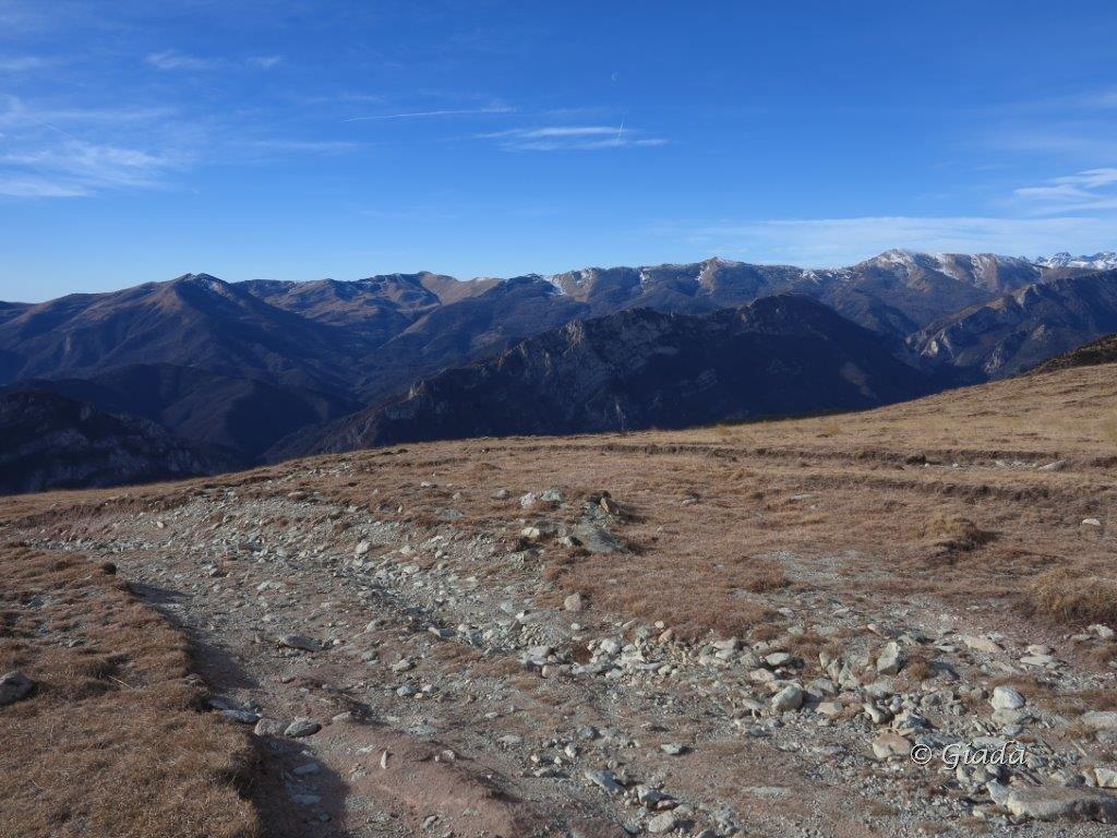 Panorama verso Frontè e Bertrand