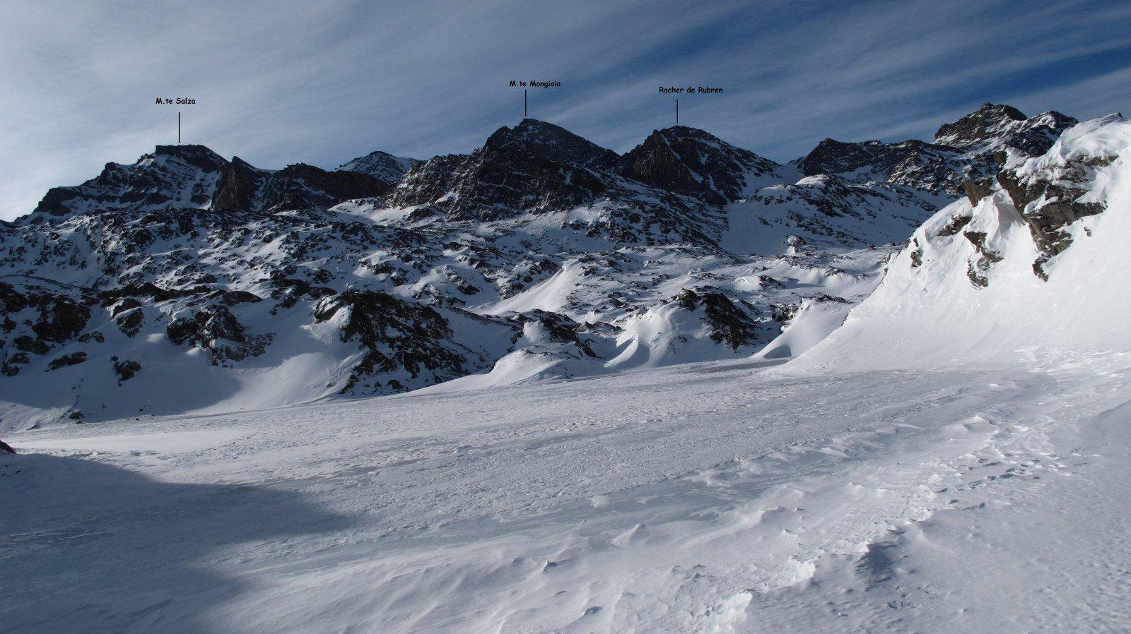 Dal Col Longet la cima è ancora ben lontana