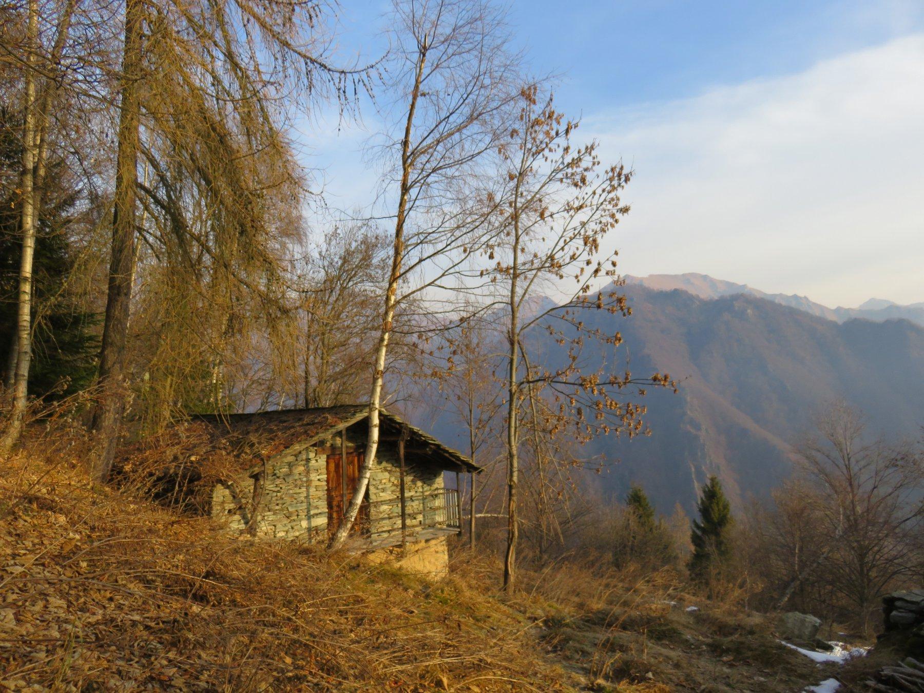 Bella baita all'Alpe Monte