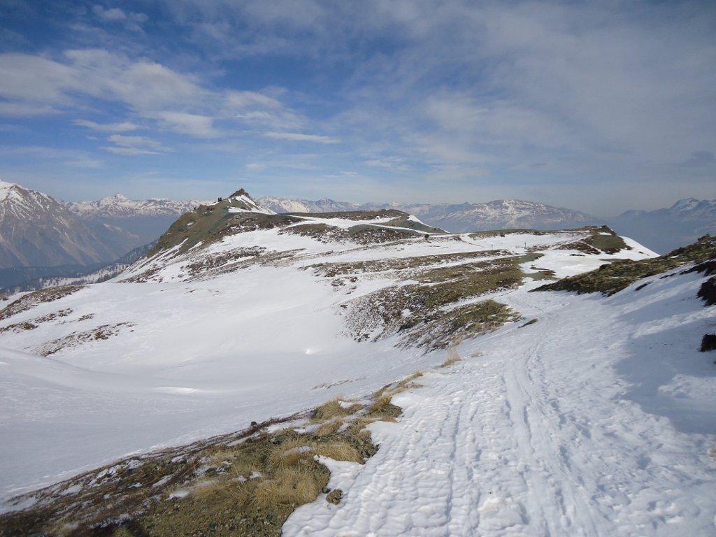 verso Colle Bercia, sul lato sx  Val Gimont