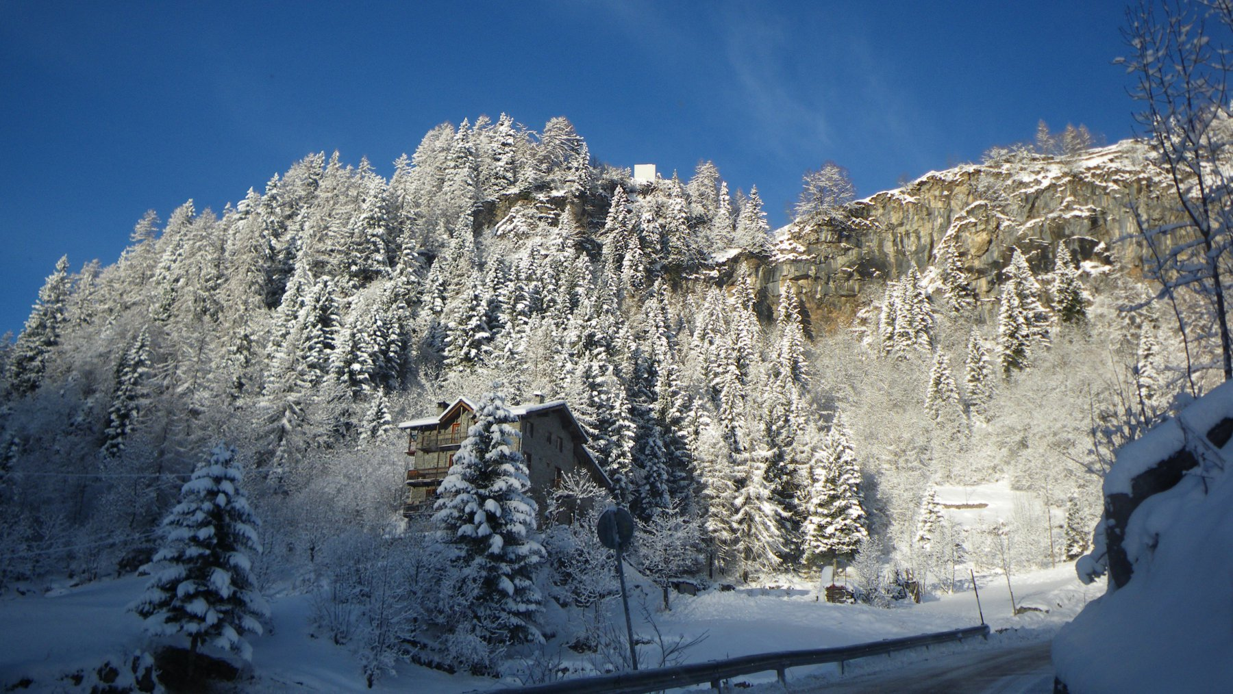 Magia della neve..