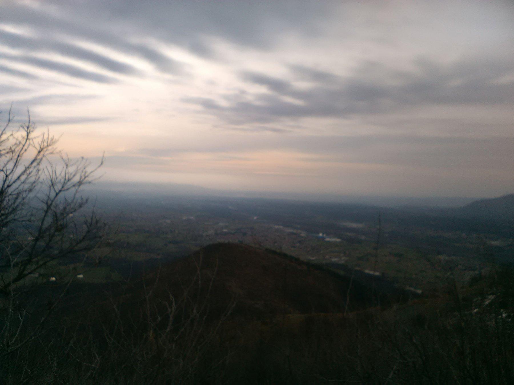 Vista sulla pianura