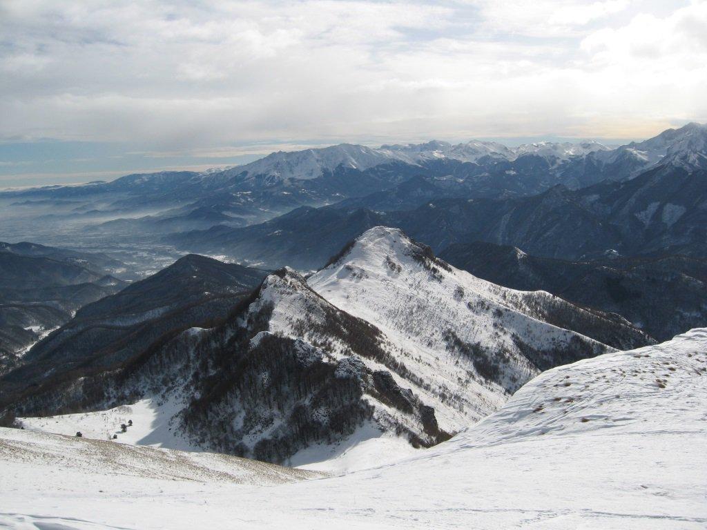 Tajare' e Rocciaia dalla cima