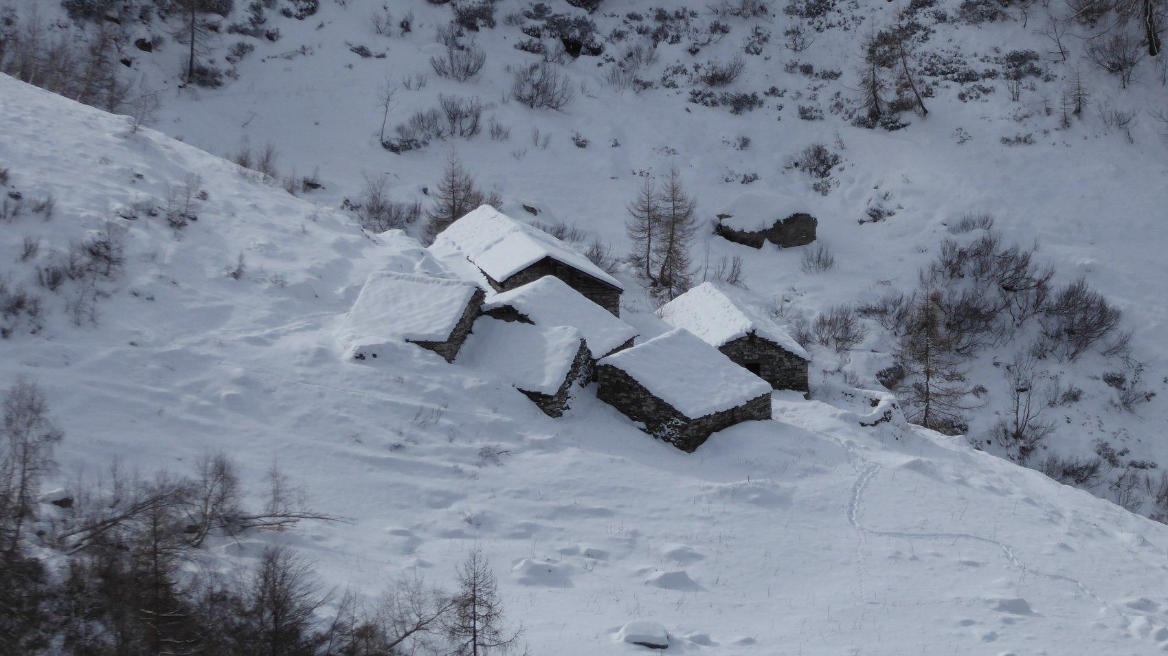 Alpe Ussel dall'Alpe Tola