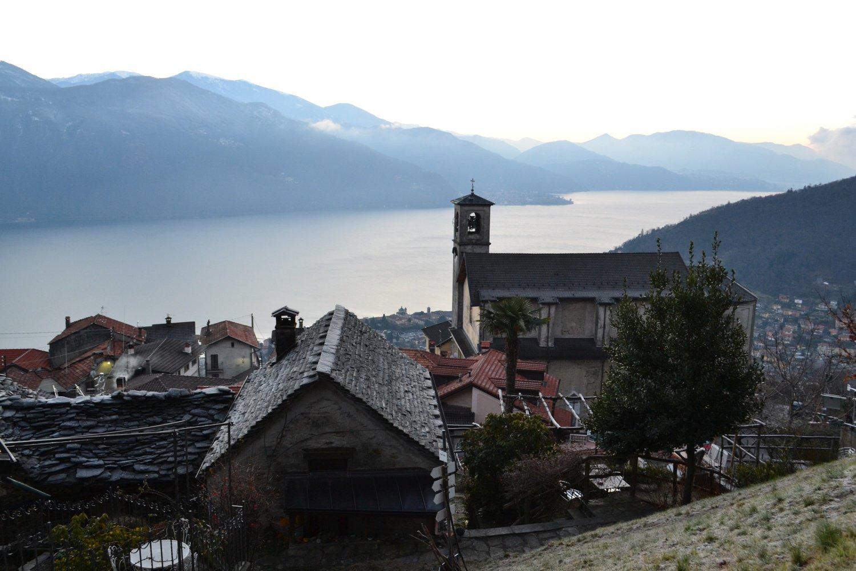 Lago Maggiore visto da Sant'Agata