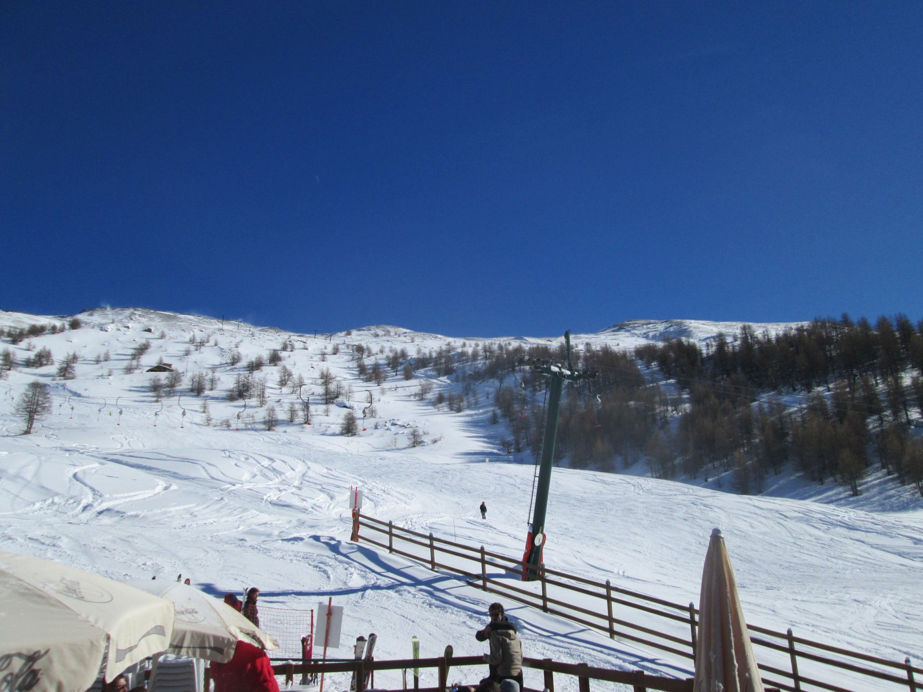 Panorama della cima dalla Capannina