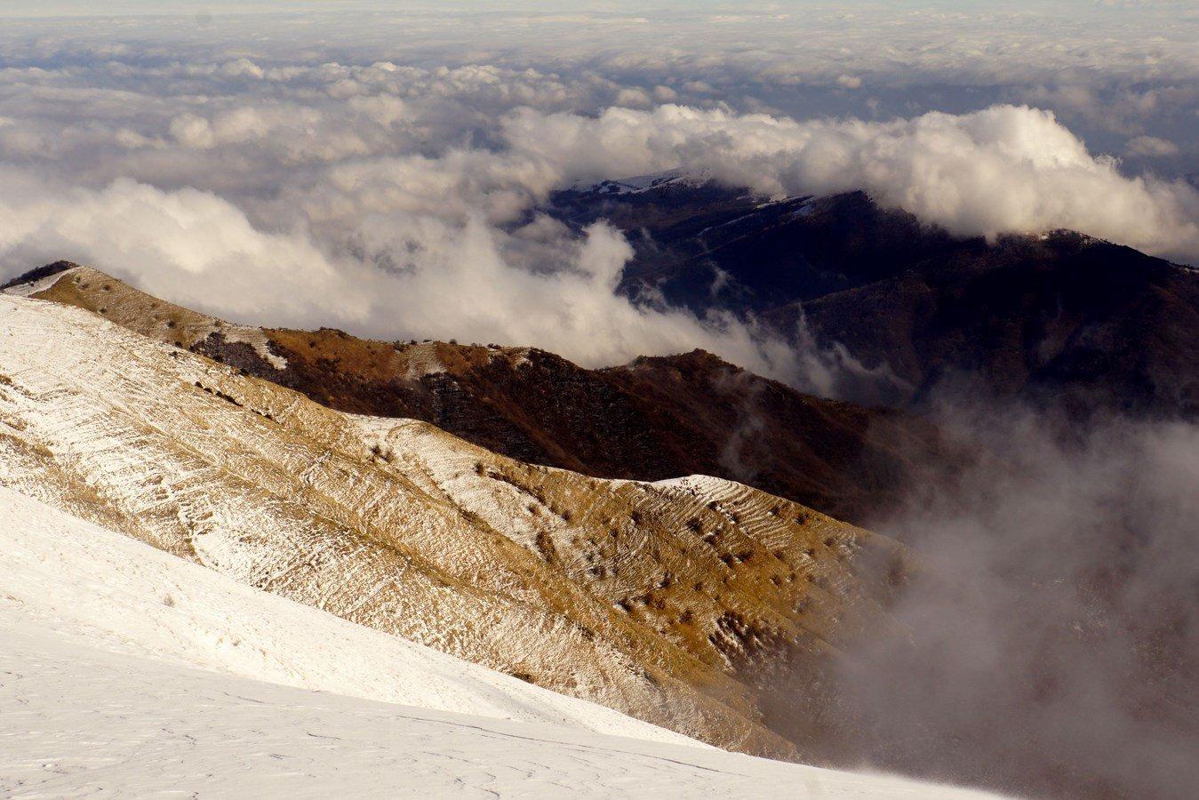 Monega (Monte) dal Passo della Teglia 2016-02-14