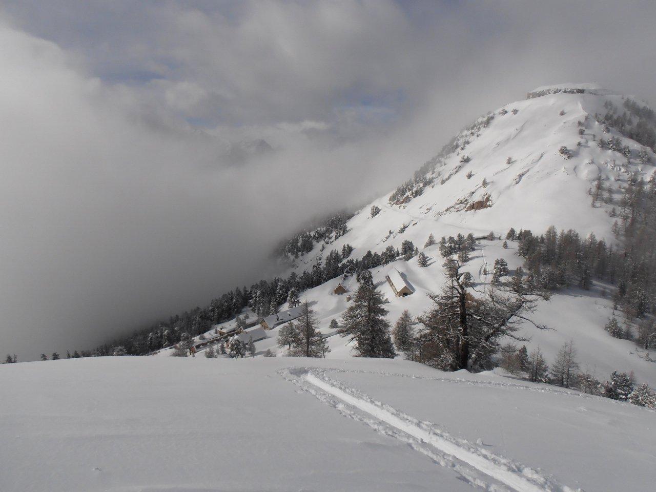 04 - apertura nella nevicata