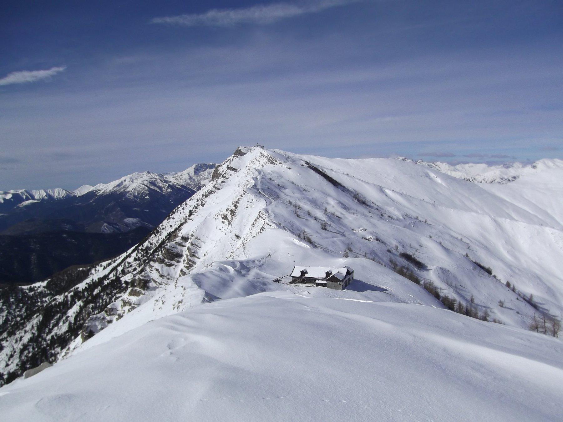 Saccarello (Monte) e Monte Frontè da Monesi per il Redentore 2016-02-15