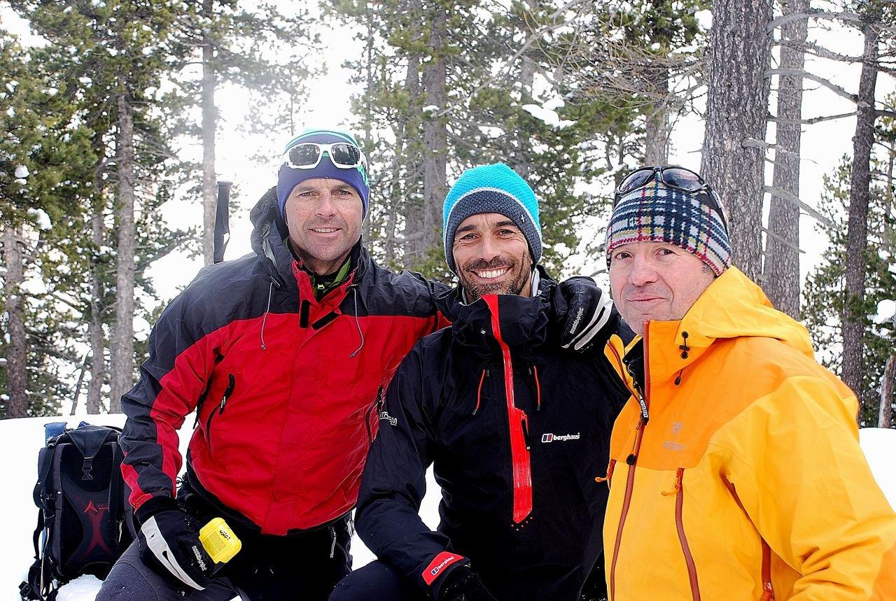 Xavi, Nicolò e Carlo