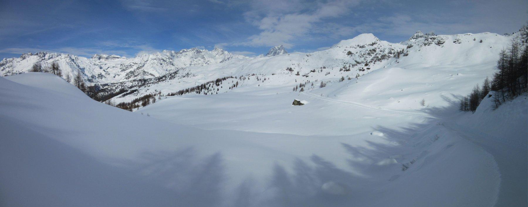 distese di neve