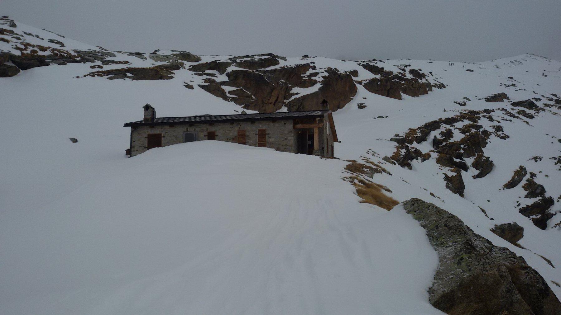 il rifugio invernale..