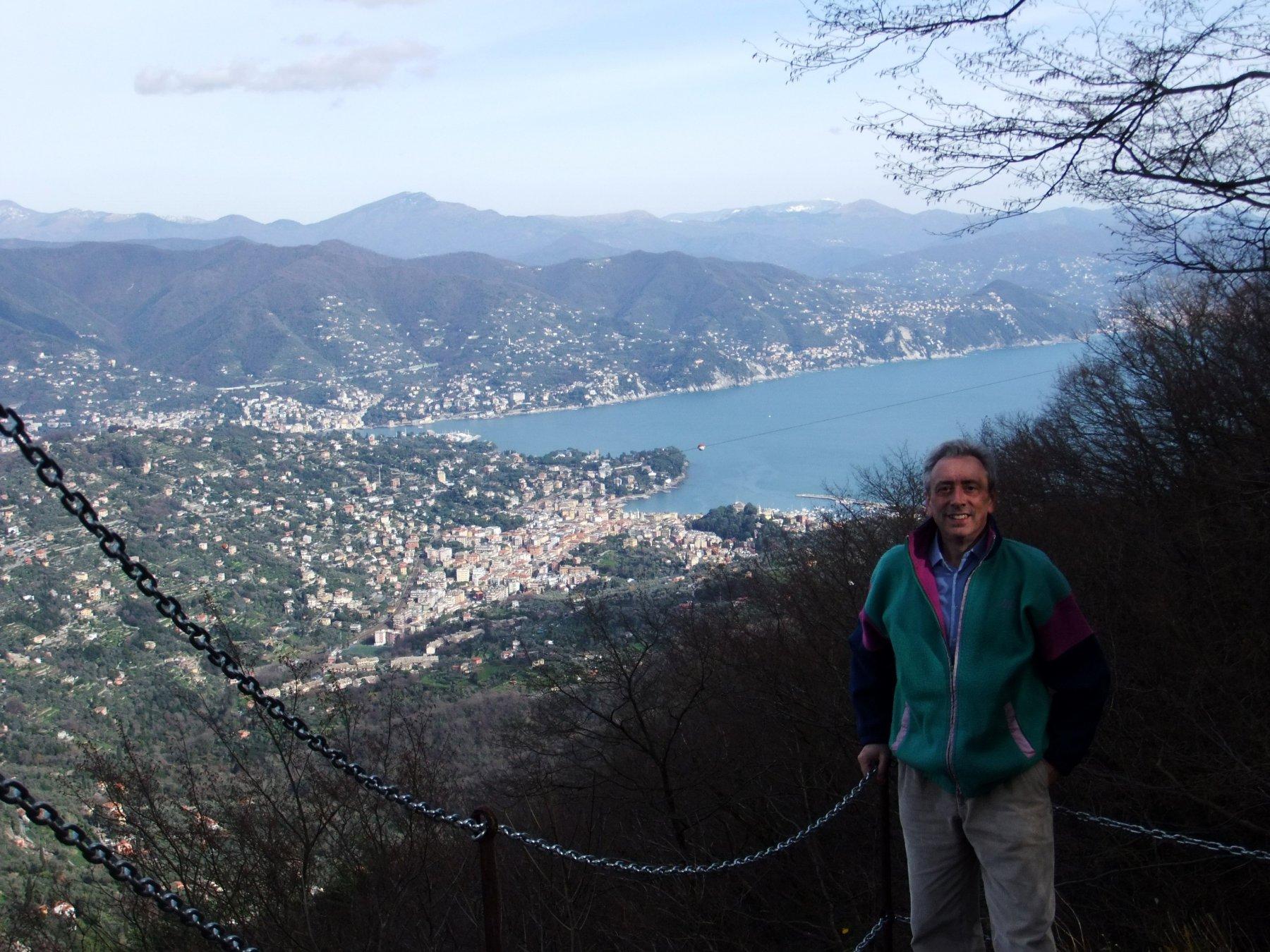Santa Margherita dal punto panoramico dietro al Semaforo Vecchio