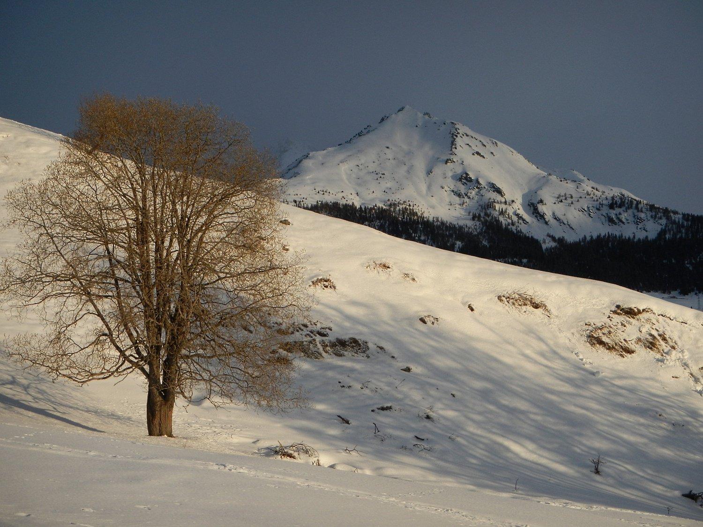 bella vista sul Monte Saron