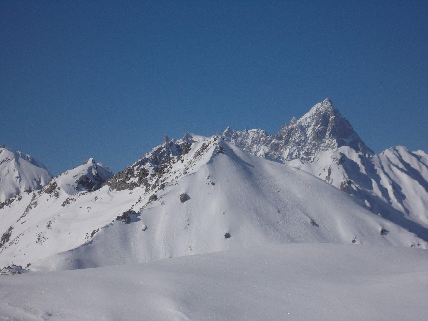 Monte Bianco e Gran Jorasses