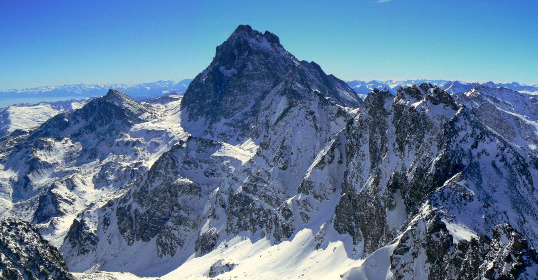 Monviso dalla vetta del Monte Granero