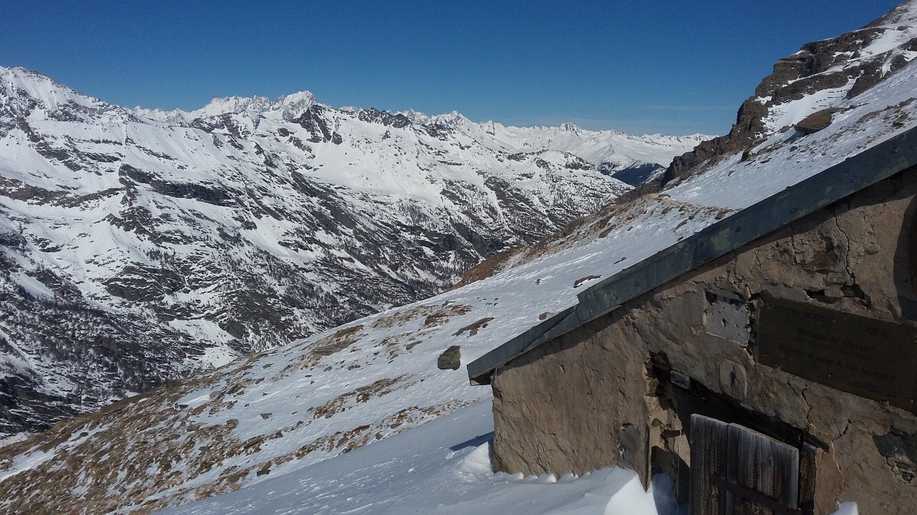 colle 2965 m e bivacco Quatre Dents