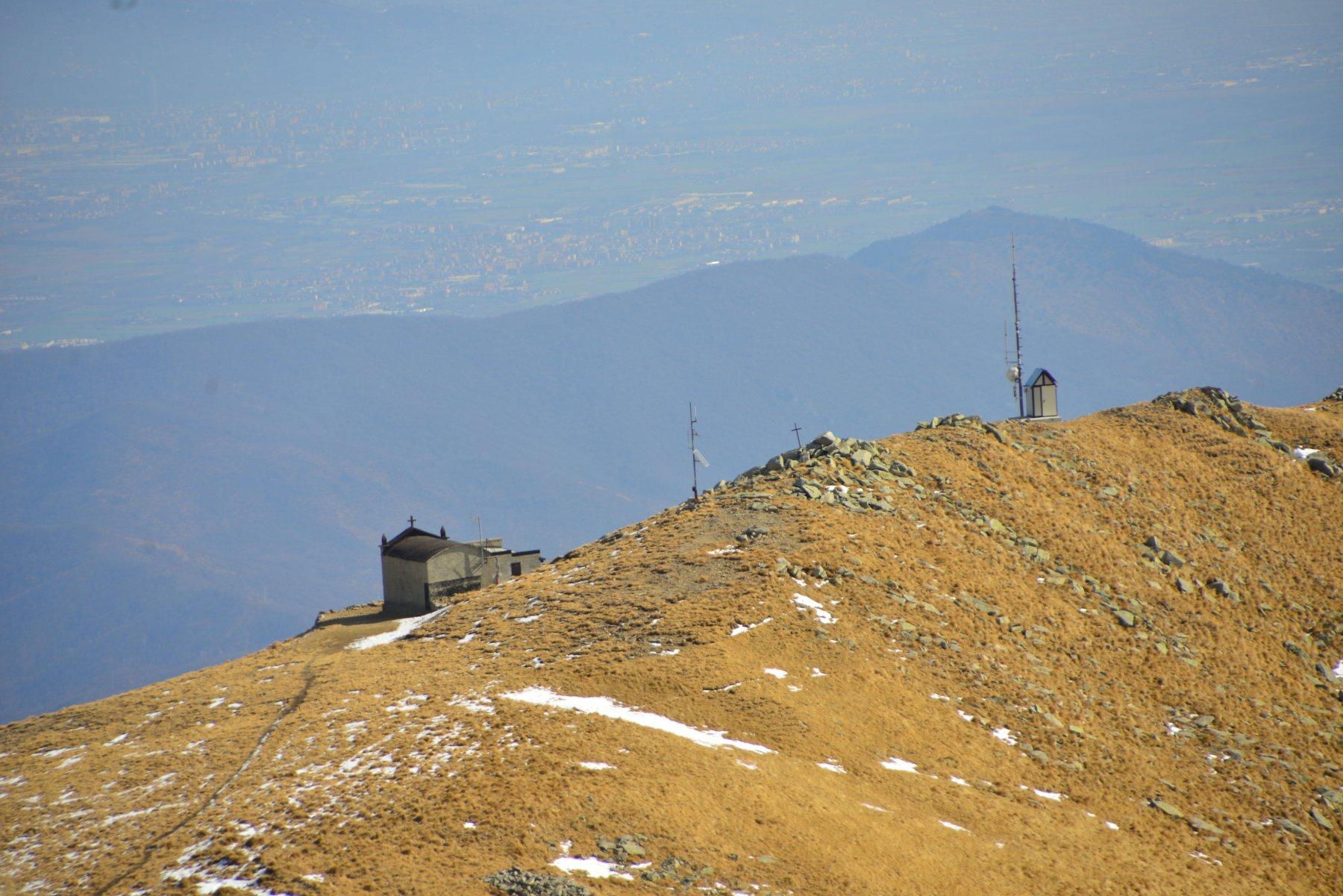 Bivacco 3 alpini dalla punta