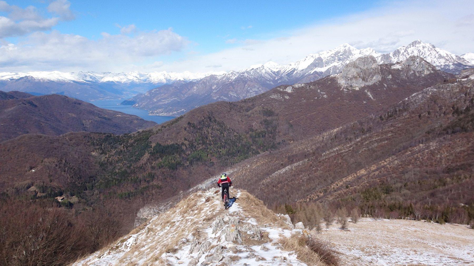 verso alto Lago di Como