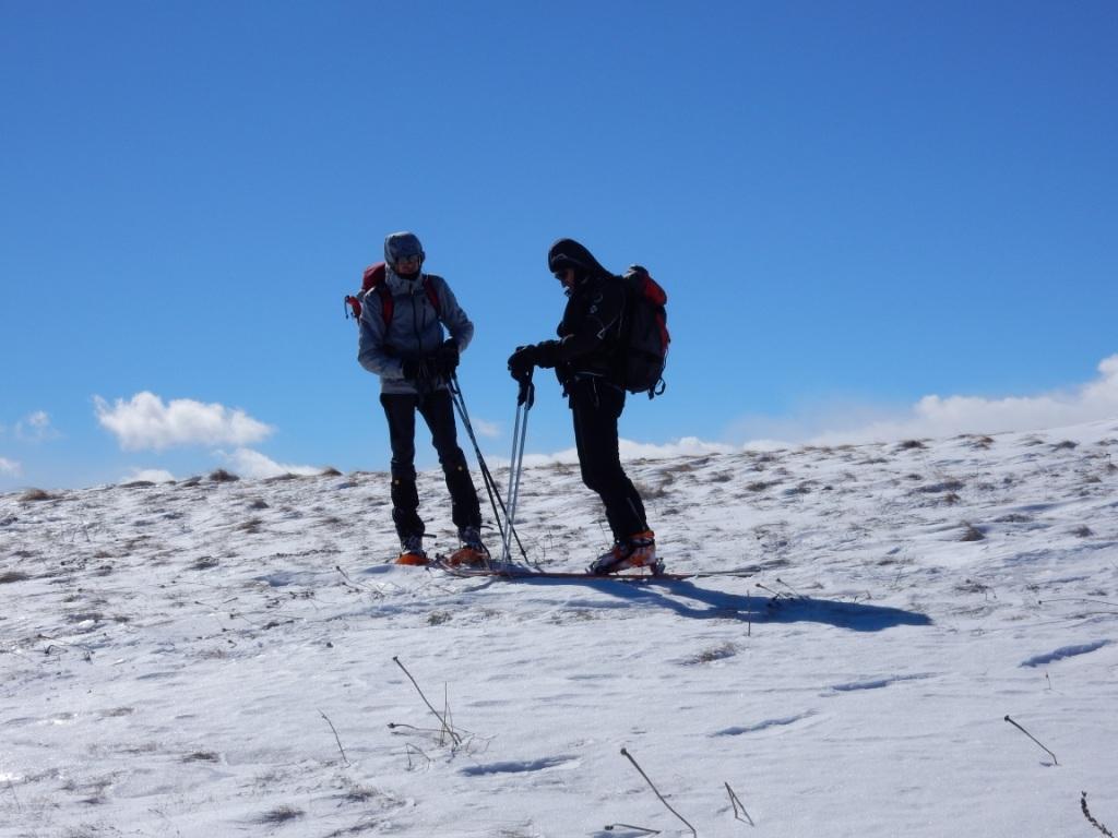 Enzo e Andrea e vento gelido!
