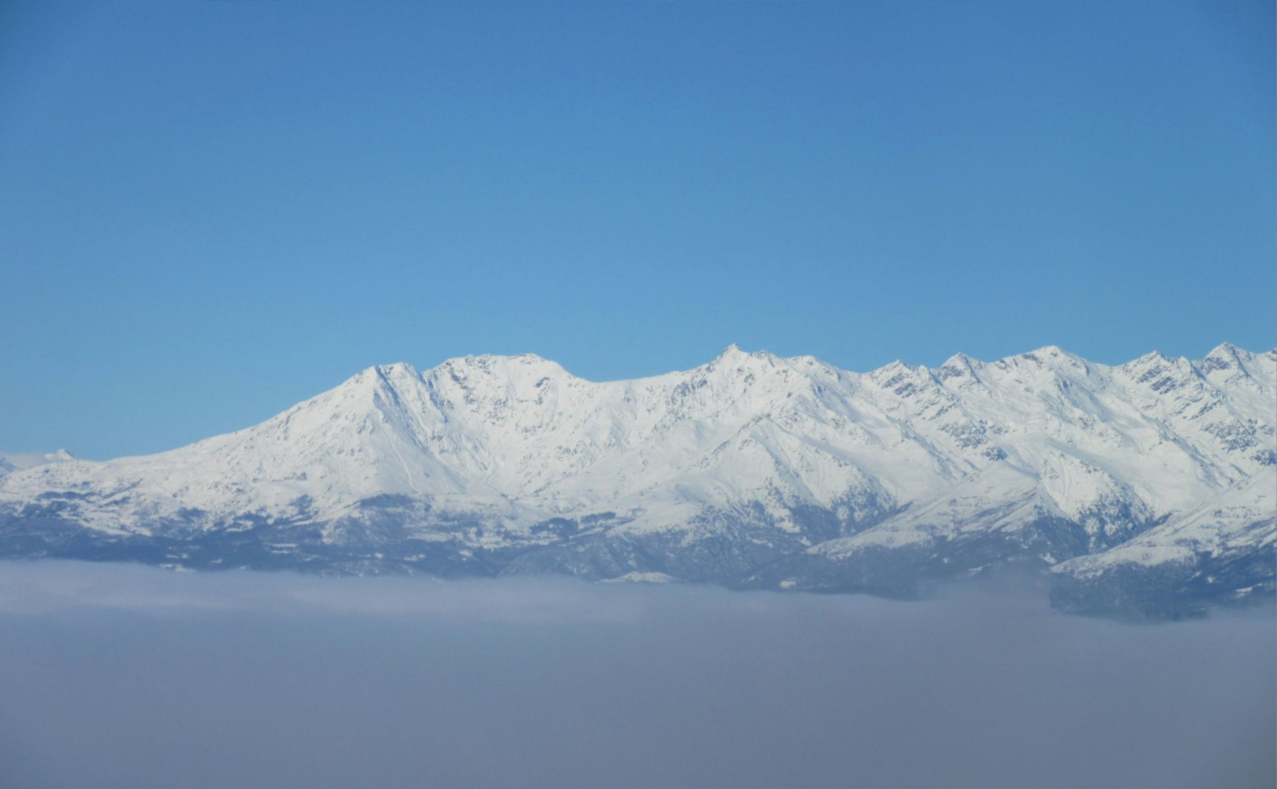Panorama verso la Quinzeina e Punta Verzel