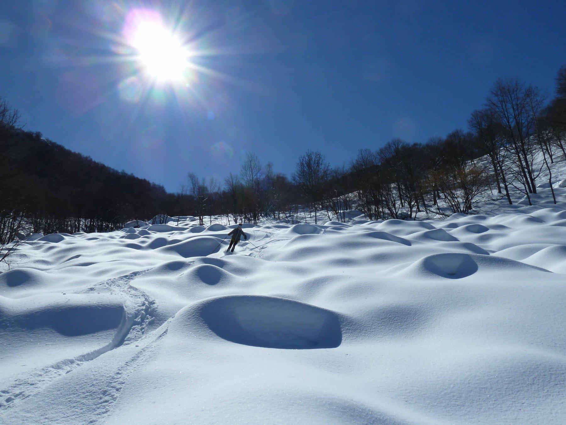 Snow park tra le dune