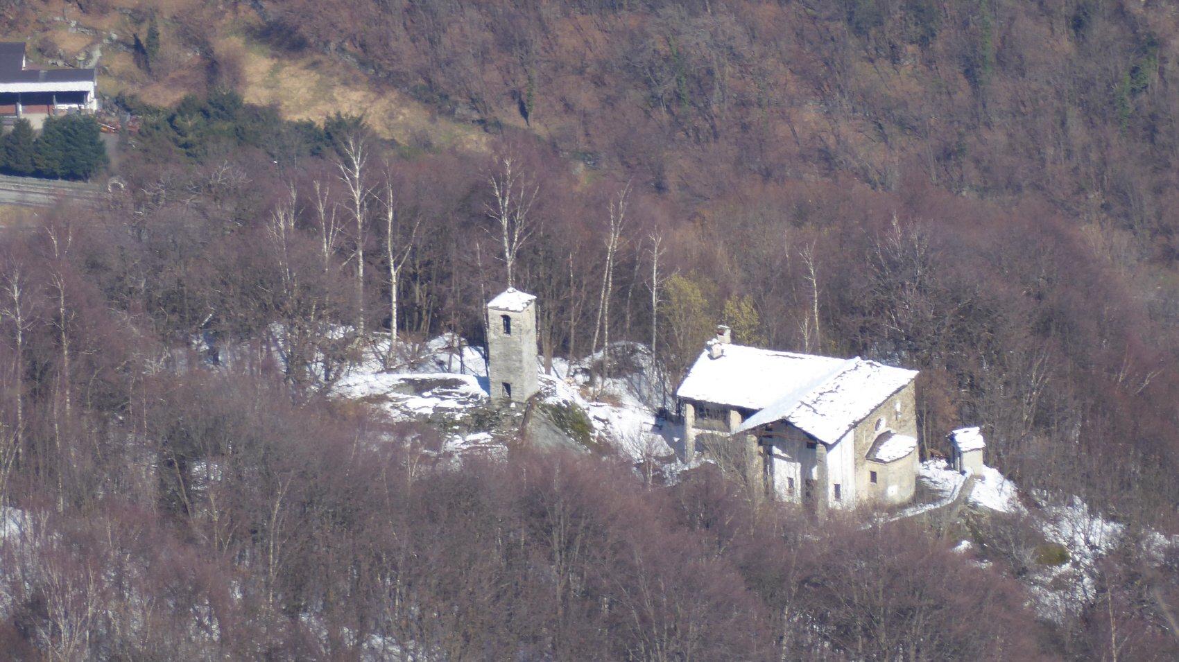 Sant'Anna all'Aia di Pietra da San Bernardo di Sparone