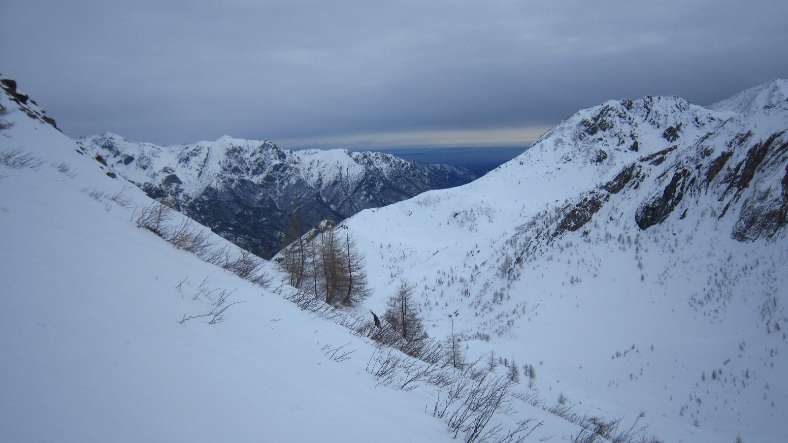 Panorama verso pian Benot