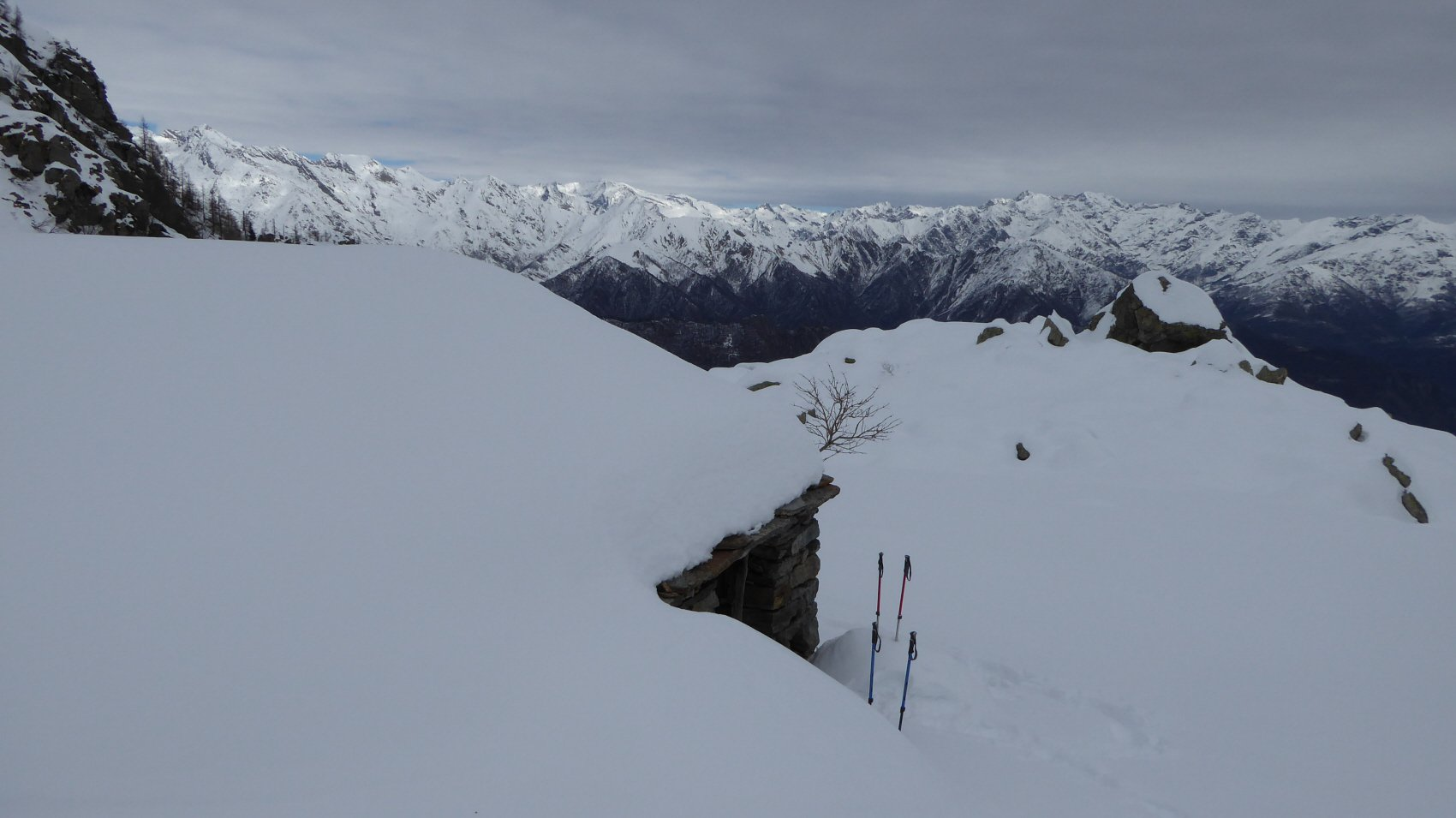 Panorama dall'Alpe Pian delle Marmotte
