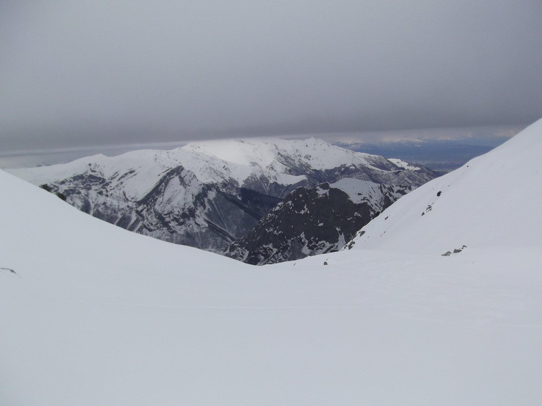 La Bisalta dalla parte alta del vallone.