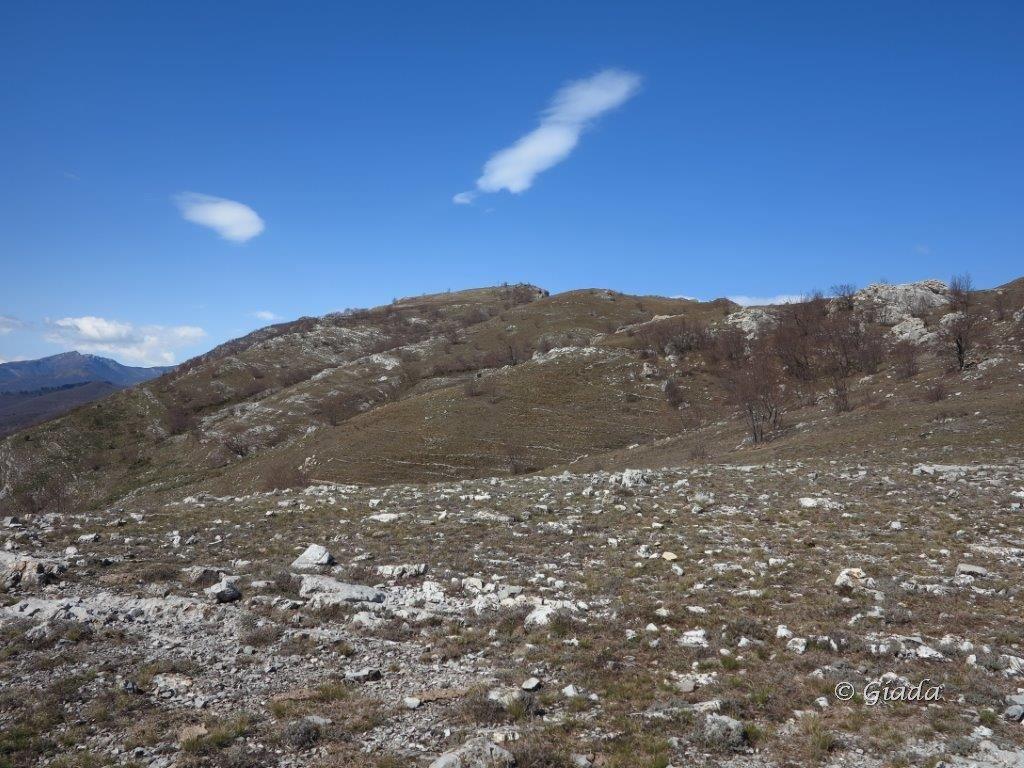 Crinale verso il Monte Nero