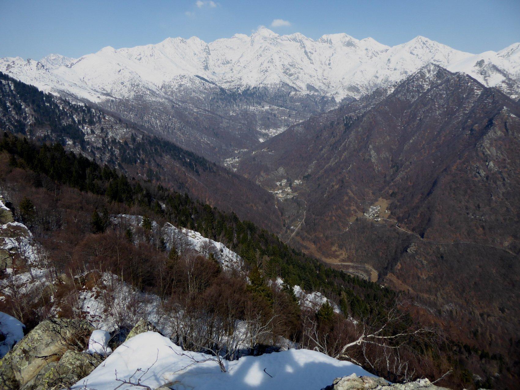 la bella e selvatica Valle di Ribordone