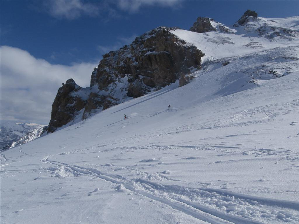bello....con gli sci!!