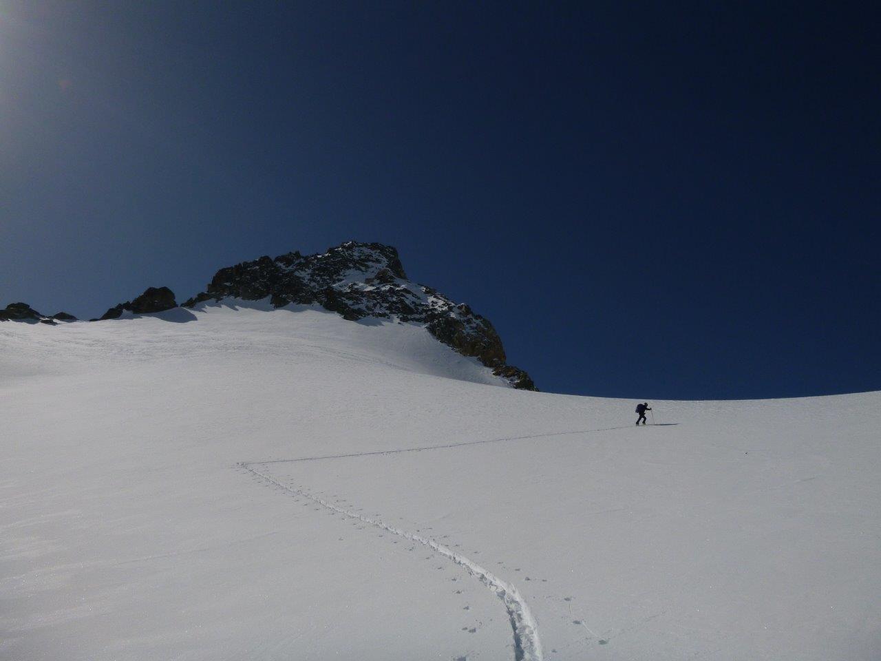 salita prima del colle mont gelé