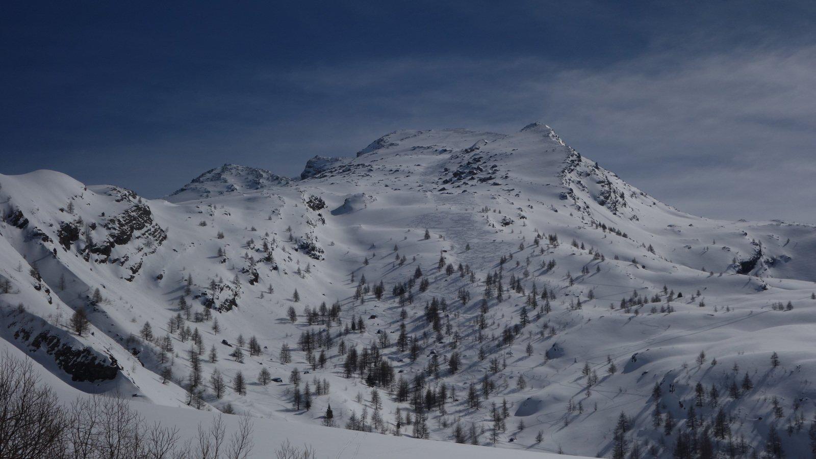 Enchastraye (Monte) da le Pontet per la Val Fourane 2016-03-15