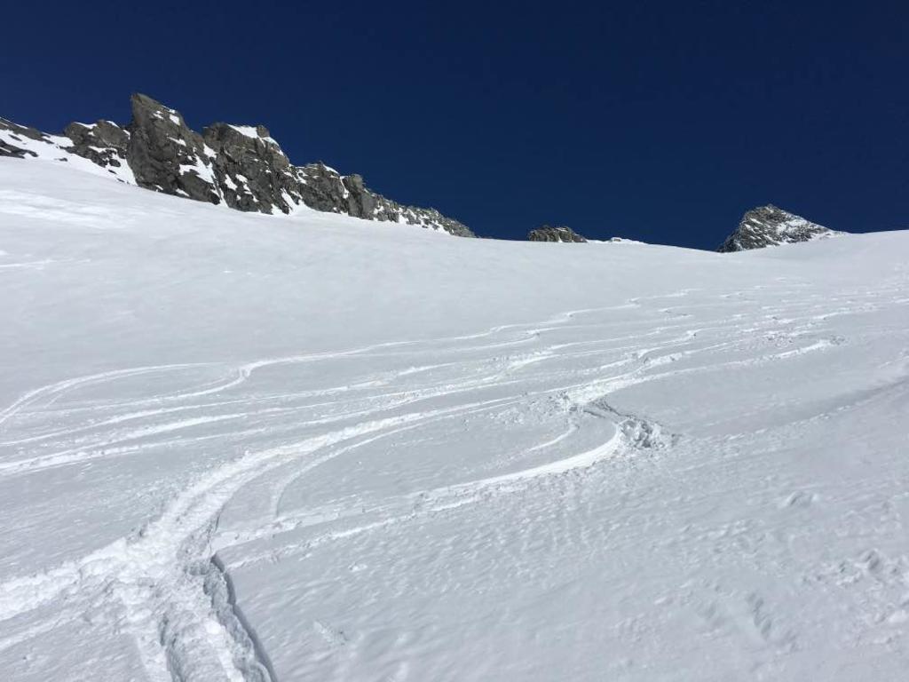 firme sul ghiacciaio