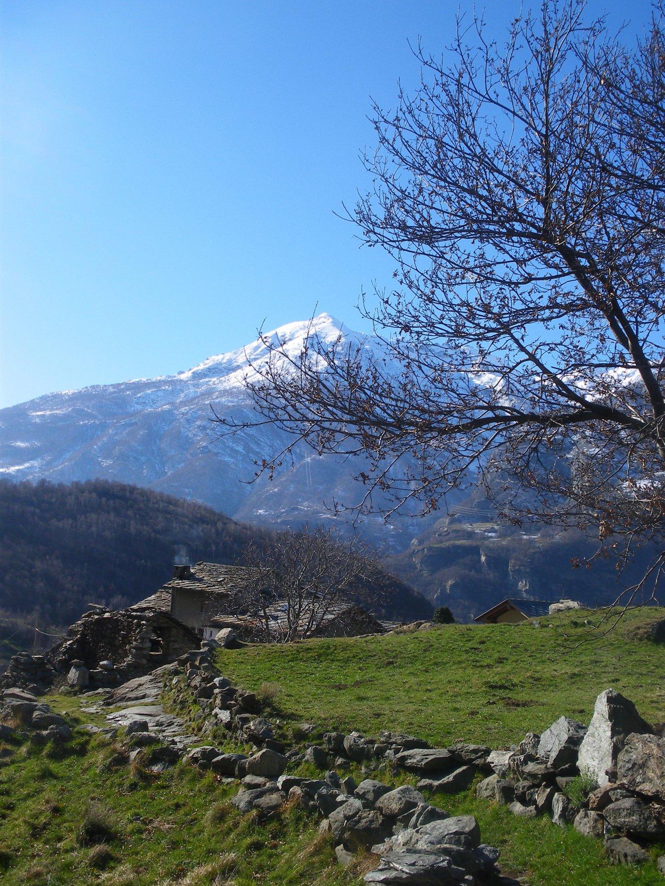 Panorama verso la Val di Champorcher